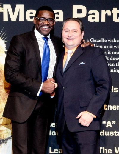 Michael Irvin and me
